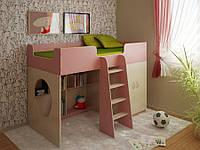 Кровать-чердак мебельный комплект САТУРН((16)