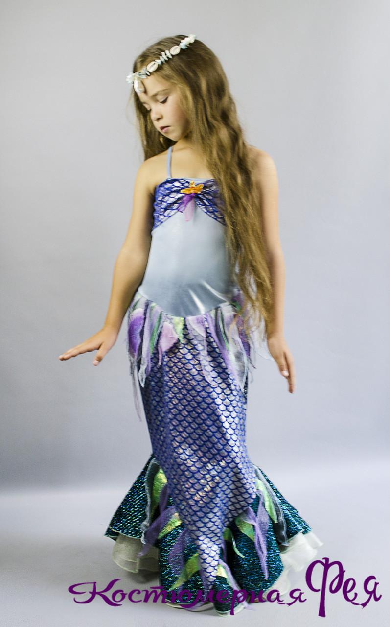 Русалочка, детский карнавальный костюм рыбки (код 22/11)