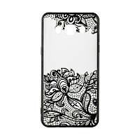 Rock Tatoo Art Case for Samsung J330 J3-2017 Fantasy Flowers