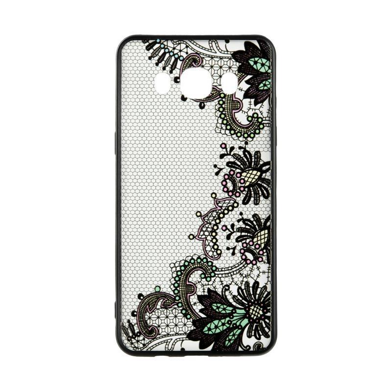 Rock Tatoo Art Case for Samsung J330 J3-2017 Color Flowers