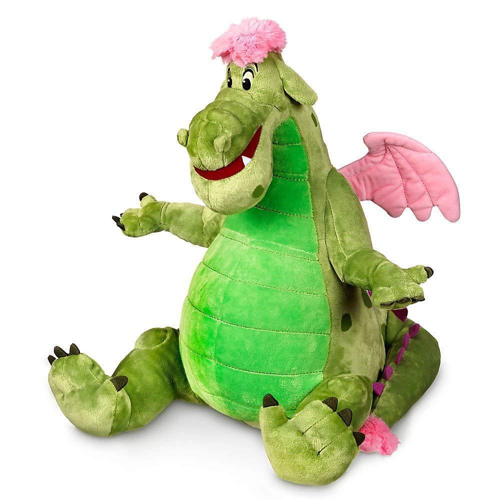 Disney Мягкая игрушка динозавр Эллиот 35см - Пит и его дракон