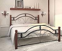 Кровать двухспальная ДИАНА дерево (93)