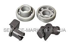 Колеса (2шт) с держателями для ящика посудомоечной машины Bosch 424717