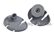 Комплект колес (2шт) с держателями (2шт) для нижнего ящика посудомоечной машины...