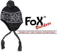 "Шапка із флисовой підбивкою Fox Outdoor ""Peru Cusco"" grey"