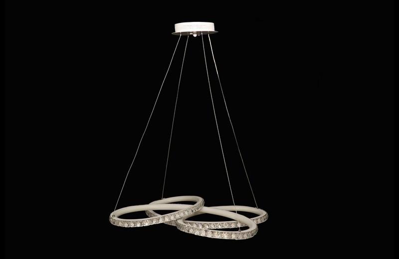 Необычная светодиодная подвесная люстра 6076