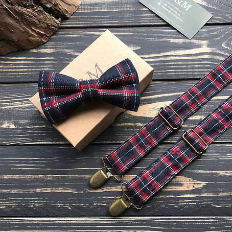 Набор I&M Craft галстук-бабочка и подтяжки для брюк (030207), фото 2