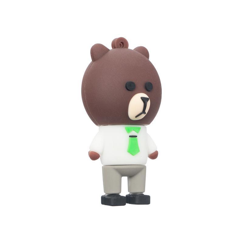USB Flash 16Gb Optima OP-821 Bear