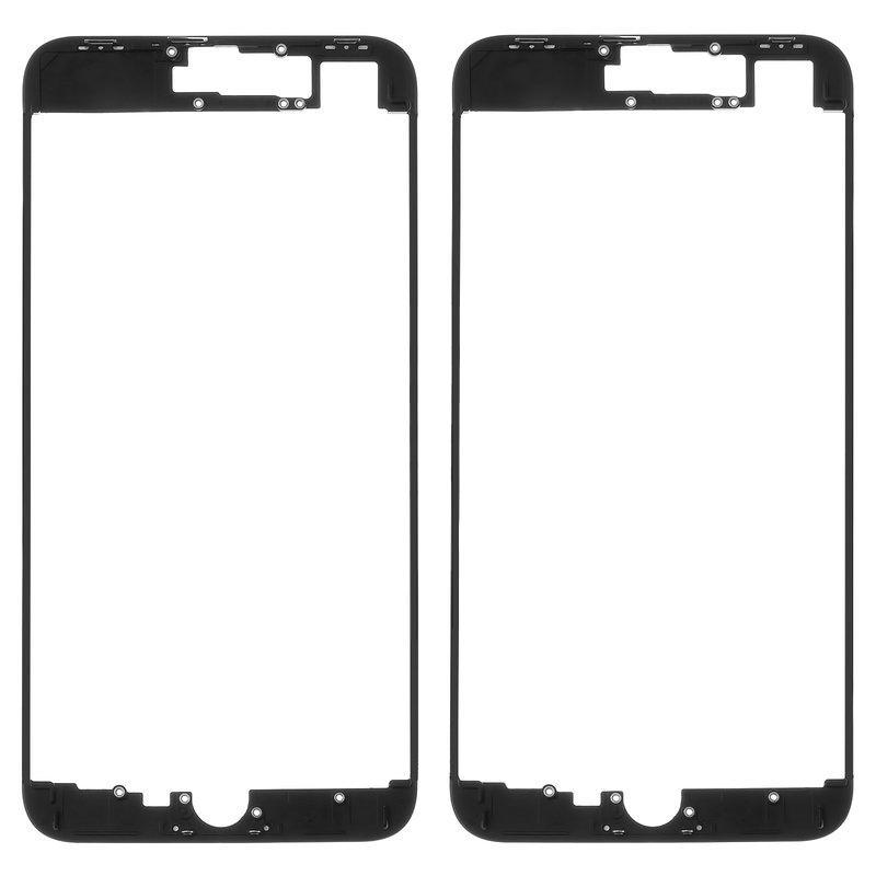 Mounting frame Lcd iPhone 8 Plus Black