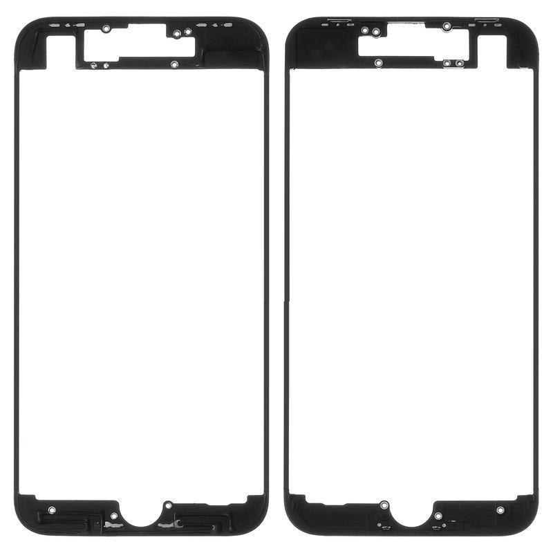Mounting frame Lcd iPhone 8 Black