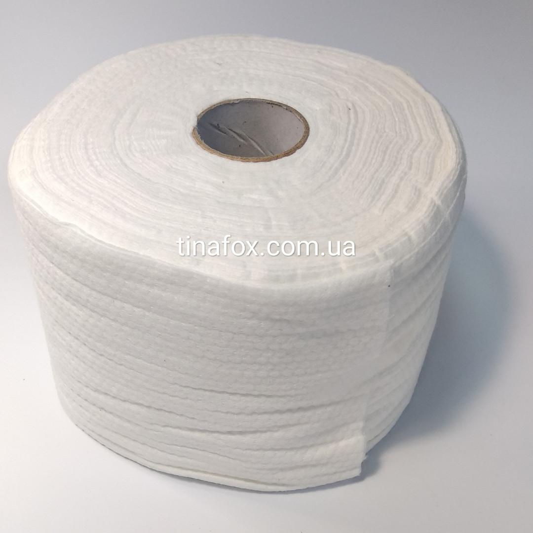 Безворсовые полотенца для маникюра 22/20см 150шт рулон