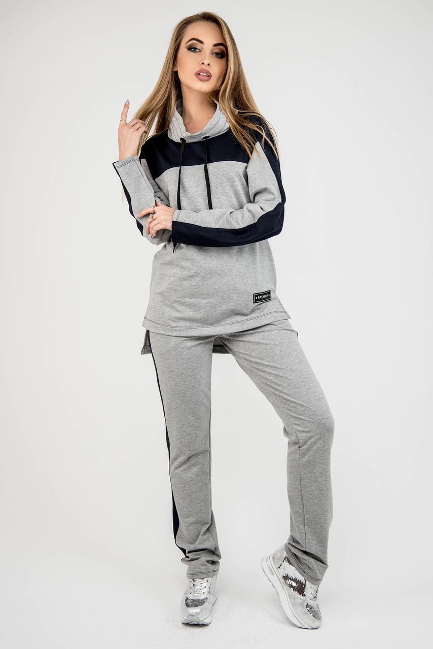 37dc20527cba Я-Модна - купить Женский комфортный спортивный костюм Джейла / цвет серый /  размер ...
