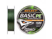 Шнур Select Basic PE 150m (темн-зел.) 0.24mm 40lb/18.2kg
