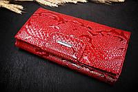 Кошелек женский бордовый, Farmina F-1015-019, натуральная кожа, Турция