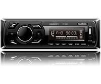 Автомагнитола Fantom FP-350 USB/SD 1 Din Black/Green
