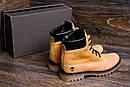 Мужские зимние кожаные ботинки Timberland crazy shoes, фото 9