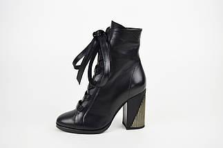 Ботинки на высоком каблуке с кожаным шнурком Lottini , фото 2