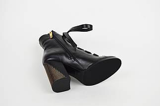 Ботинки на высоком каблуке с кожаным шнурком Lottini , фото 3