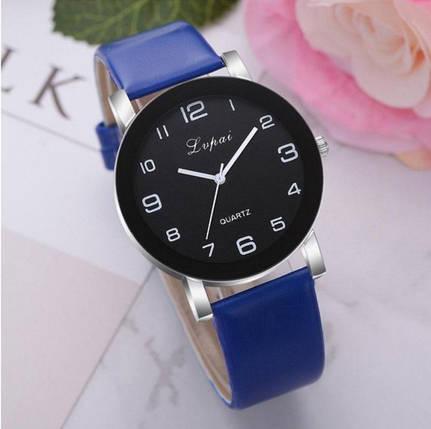 Часы женские Lvpai хит синий ремешок, фото 2