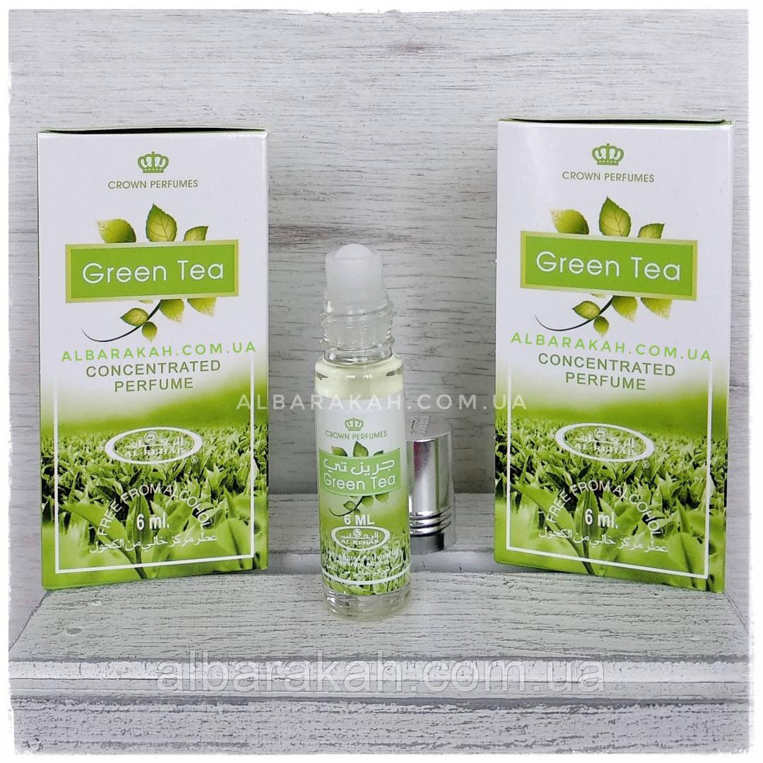 Арабские масляные духи Green Tea Al Rehab (Аль Рехаб) 6 мл