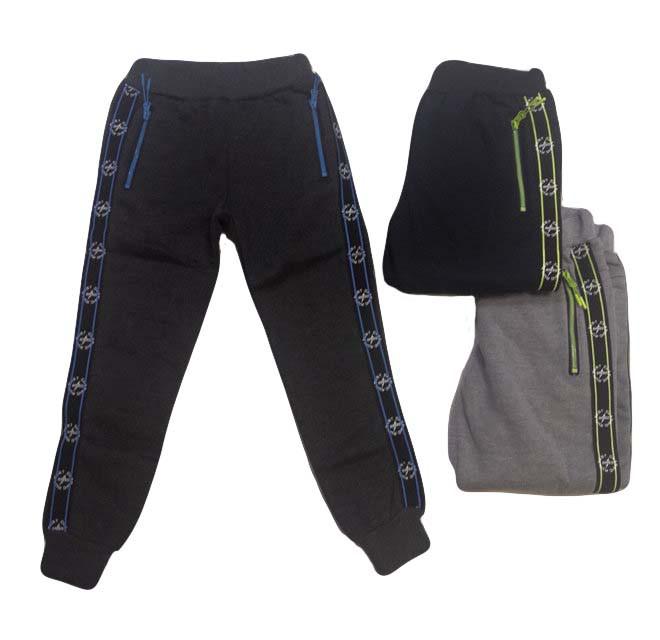 Штаны для мальчиков с начёсом оптом, Mr. David, размеры 134-164р, арт. CSQ 52167