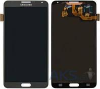 Дисплей для телефона Samsung N900 Galaxy Note 3, N9000 Galaxy Note 3, N9005 Galaxy Note 3, N9006 Galaxy Note 3 + Touchscreen Original Grey
