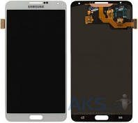 Дисплей для телефона Samsung N900 Galaxy Note 3, N9000 Galaxy Note 3, N9005 Galaxy Note 3, N9006 Galaxy Note 3 + Touchscreen Original White