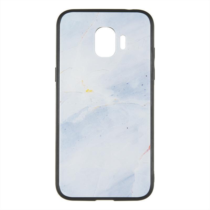 IPaky Print Series for Samsung J250 J2-2018 White Marmor RCD147