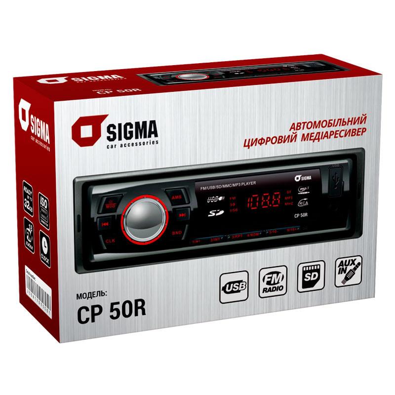 Автомагнитола Sigma CP 50R