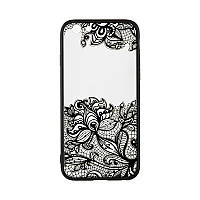 Rock Tatoo Art Case for Huawei Y7 Prime Fantasy Flowers