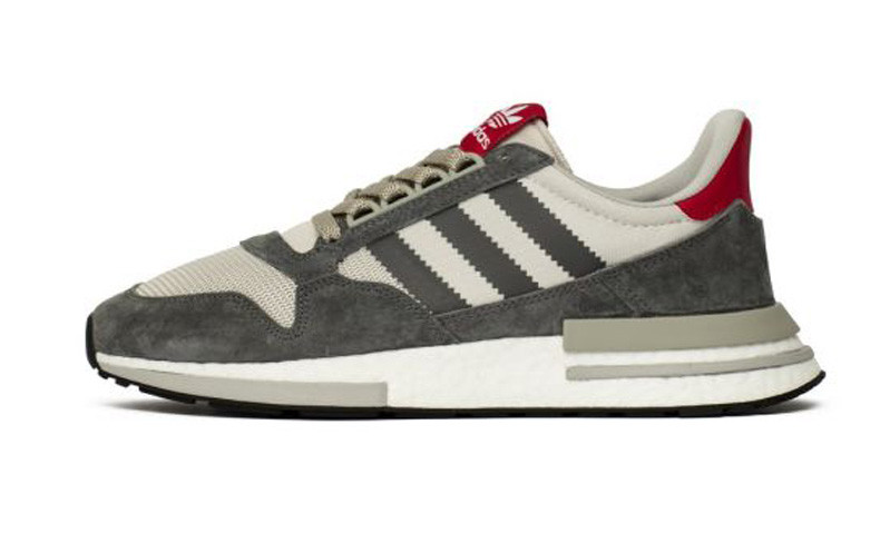 0e9e78d1 Мужские Кроссовки Adidas ZX 500 RM Grey Four/White — в Категории ...