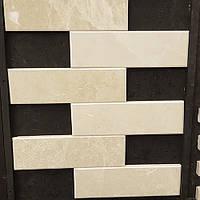 Облицовочный камень лапша белая 1,5х2