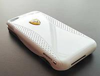 Чохол-акумулятор для Apple iPhone 4 iPhone 4S (1800 mAh), Ferrari, Білий, Power Bank/Павер банк/АКБ/Батарея/Батарейка /айфон/
