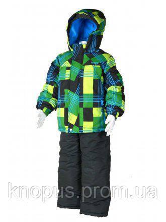 """Зимний лыжный термокомплект для маленьких мальчиков """"Ассимметрия"""", PIDILIDI BUGGA"""