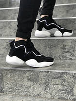 Чоловічі кросівки Adidas Crazy BYW LVL I Black, фото 2