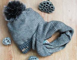 Теплые шапки и комплекты на мальчиков