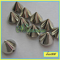 Шипы средние серебро