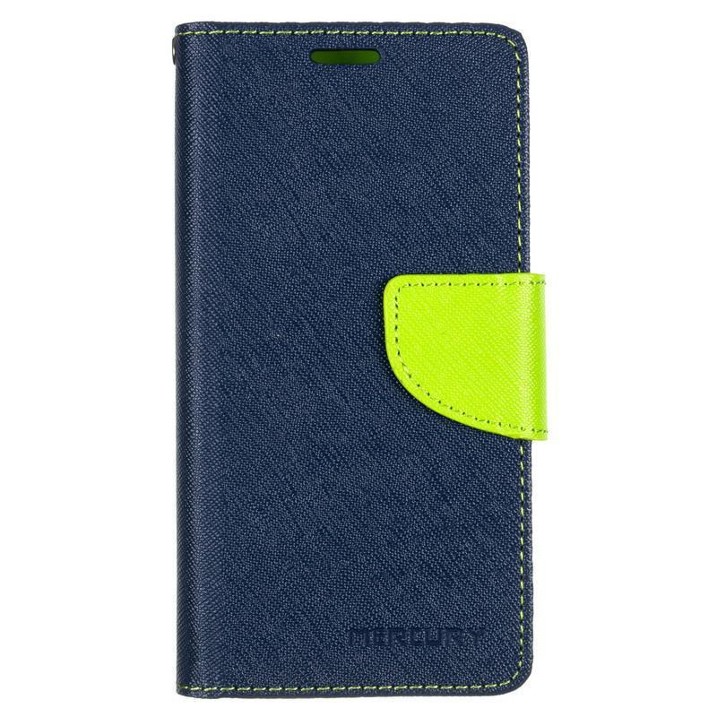 Book Cover Goospery Huawei Y3 II Blue