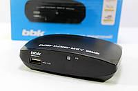 Приставка Т 2 Цифровой телевизионный ресивер SMP002HDT2, черный Эфирный приемник Тюнер ТВ