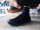 Мужские нубуковые комфортные туфли Detta, фото 5