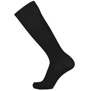 Гетры Europaw C-004  черные с трикотажным носком, фото 2