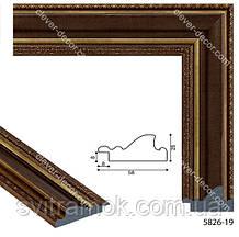 Рамка для дзеркала з багету 40х50 см