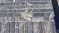 Мраморный камень облицовочный черный 2хL см, фото 1