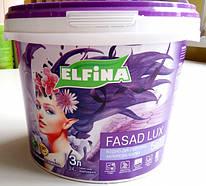 """Краска фасадная ELFINA """"Fasade Lux"""" 14 кг"""