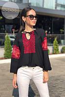 Женская блузка кофта вишиванка код 0626, фото 7