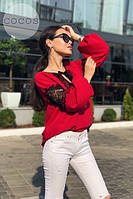 Женская блузка кофта вишиванка код 0626, фото 8