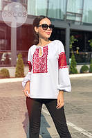 Женская блузка кофта вишиванка код 0626, фото 9