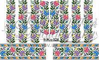 """Заготовка для вишивки нитками або бісером """"Сорочка жіноча"""" БЖд-124 Барвиста вишиванка"""