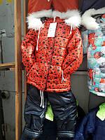Детский зимний комбинезон для девочки Код дод51