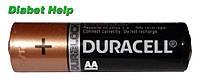Батарейка Duracell AA (LR06) - 1 штука (без коробки)